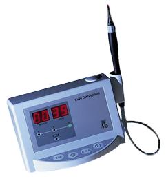Laser diagnostyczny DIAGNOdent to urządzenie do wykrywania wczesnych zmian patologicznych w strukturach twardych tkanek zęba.